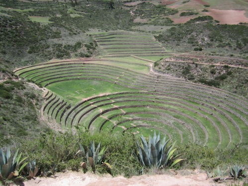 Traveling in the Sacred Valley.