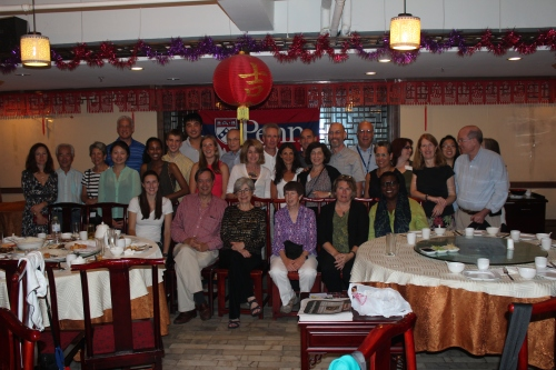 A joint dinner with the Penn Beijing Club. Some of our travelers had Penn Beijing friends who joined us that night.