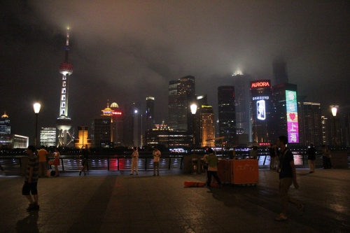 Cool cosmopolitan Shanghai. 20 years ago, these skyscrapers were nothing more than desolate swampland.