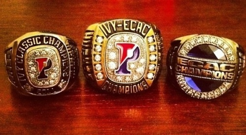 Oh, these? These are just a few of their championship rings.