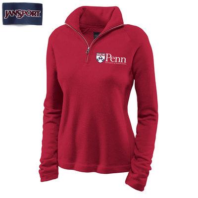 Penn Jansport Newbury Women's Quarter Zip Sweatshirt