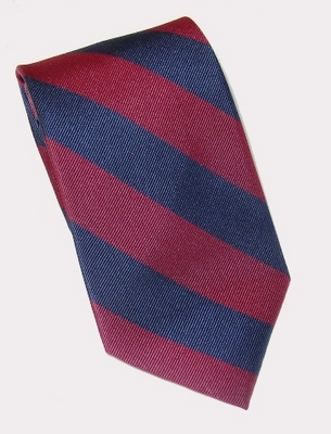 Global Neckwear Woven Stripe Penn Silk Tie – Perfect for any tie-wearing Penn alum