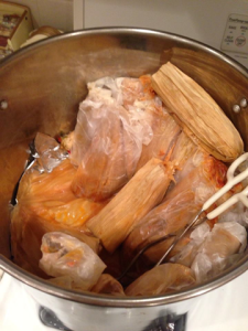 Tamales: A variety of spicy tamales with various meats, cheese, or sweet tamales served as a side dish.