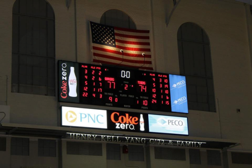 Penn beats Princeton, 77-74. Go Quakers!