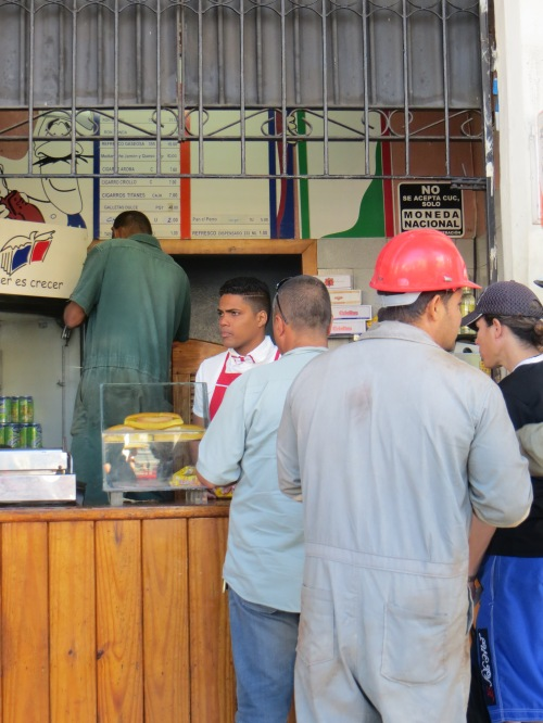 A shop in Havana