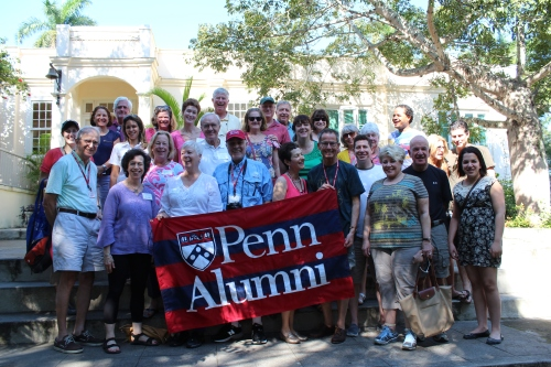 Penn Alumni and friends on the first Cuba departure. We're excited to visit Hemingway's Cuban retreat.