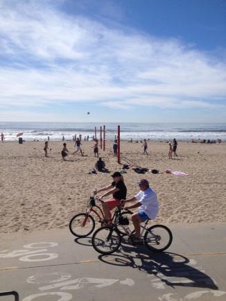 Sunny and warm in California (Manhattan Beach, CA)