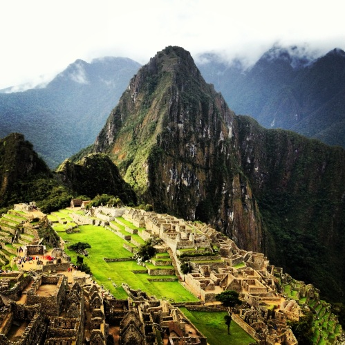 1st Place Places Category: Machu Picchu just before Close by Margaux Viola