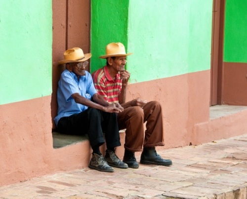 1st Place People Category: Two Gentlemen of Trinidad, Cuba by Barry Keller, C'60