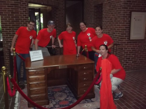 Team Redrum in Steinberg-Dietrich at the Joseph Wharton Desk