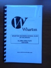 Wharton Club of Colorado alumni directory from 1999-2000