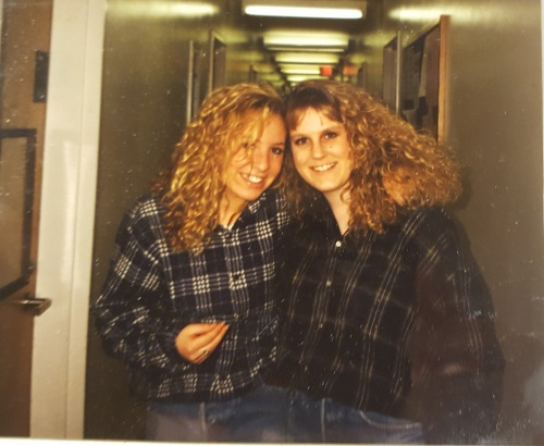 roommates in the lower quad at the University of Pennsylvania Fall 1989