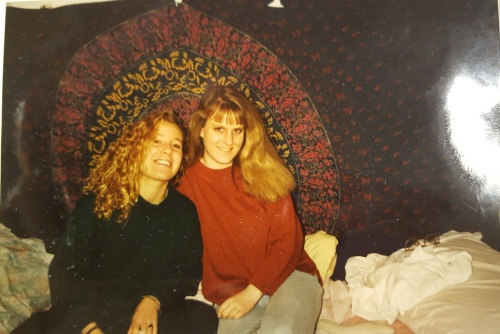Roommates in Warwick, Lower Quad, at University of Pennsylvania in the Fall 1989