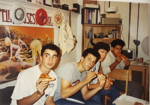 lower Quad dorm room at the University of Pennsylvania in the Fall 1989
