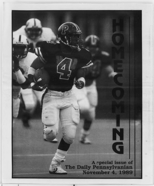 The DP Homecoming issue November 1989 The Daily Pennsylvanian