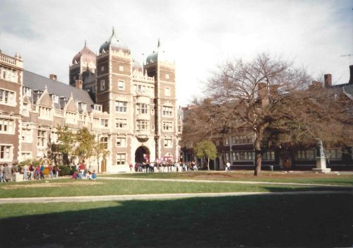 The Penn Band in the Quad at the University of Pennsylvania, November 4, 1989