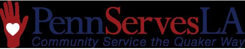 Penn Serves LA logo volunteering with Penn Alumni in Los Angeles
