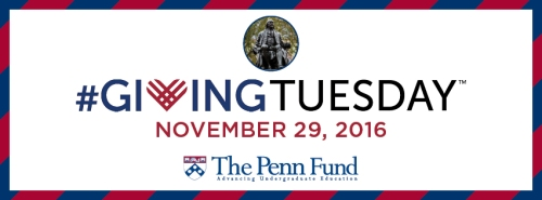 The Penn Fund Giving Tuesday #LovethePennFund