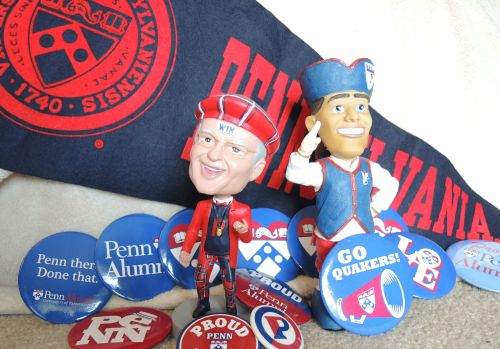 Penn Alumni pins from Penn Class of 1993 at University of Pennsylvania