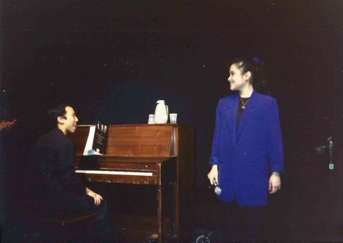 Tony Award winning actress Lea Salonga sings at University of Pennsylvania, March 1992