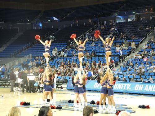Penn Cheerleaders photo by Kiera Reilly