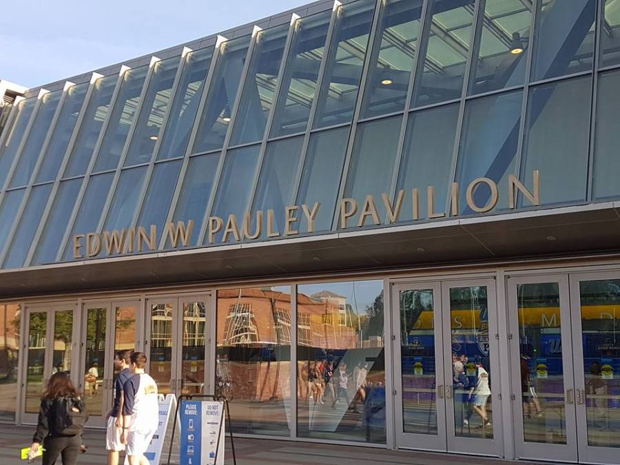 Pauley Pavilion at UCLA, home of the first round of the women's NCAA basketball tournament in 2017