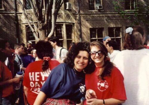 Hey Day at Penn, April 1992, photo courtesy of Natalie Taub Cutler