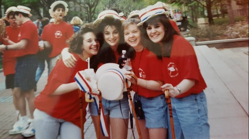 Hey Day at Penn, April 1992, photo courtesy of Jaci Israel Leit