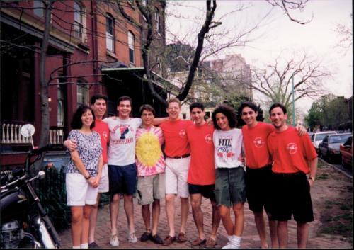Photo courtesy of Josh Frank, with Michael Berman, Doug Kalish, Benjamin Kupersmit, Josh Frank and Jefrey Pollock.