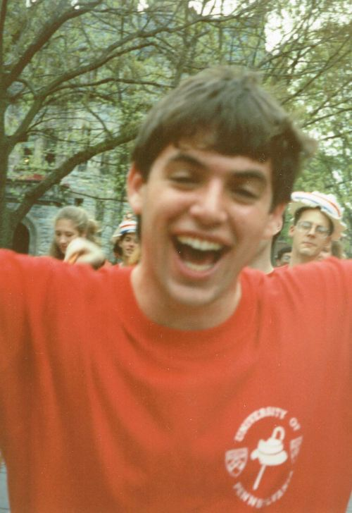 Hey Day April 1992 for Penn Class of 1993 photo courtesy of Jeff Liebert