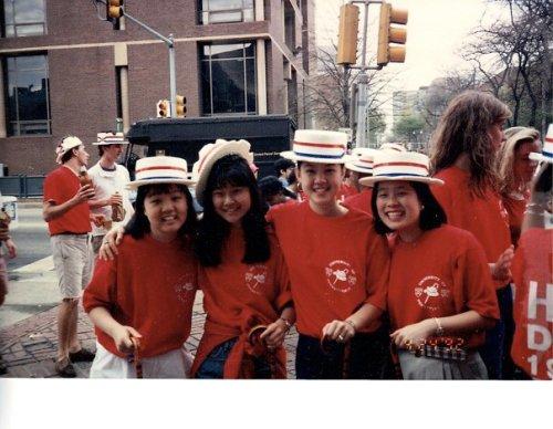 Alice Yang Ho, Amy Chen Aubrecht, Helena Choi Lee, Sue Yu Yim, photo courtesy of Helena Lee