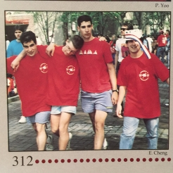 Hey Day photo from the Penn Class of 1993 Yearbook, courtesy of Howard Levene