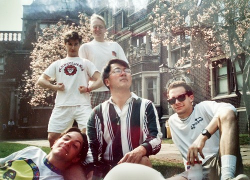 Friends made in the Quad at Penn in the early 90's