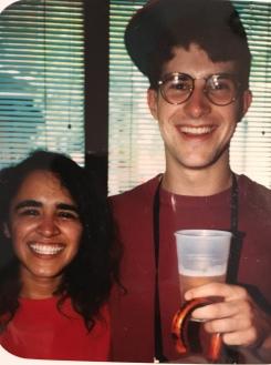 Julie Avila and Stephen Bell