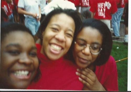 Hey Day at Penn 1993 photo by Allison Davis Talibi