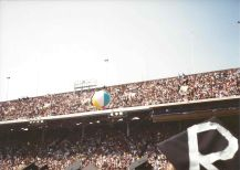 Beach ball fun during Penn Commencement, May 17, 1993. Photo by Kiera Reilly, C'93.
