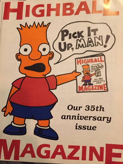 The Spring 1990 issue of Highball Magazine at Penn, courtesy of Melanie Hirschfelder Berkowitz, C'93