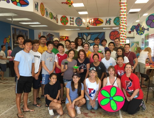 Penn Serves LA Paints at Portraits of Hope in El Segundo