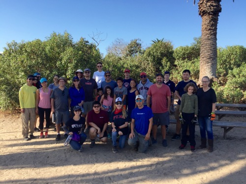 Penn Serves LA at the Ballona Wetlands