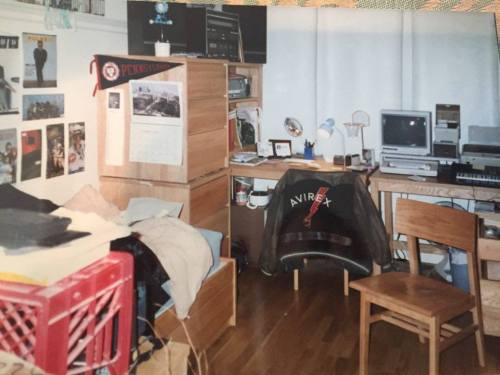 Freshman dorm room in the Quad at Penn shared by Allison Feder Fliegler, W'93, L'99 #93tothe25th