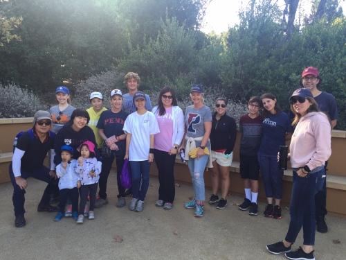Penn Serves LA helps Treepeople in Los Angeles volunteering Penn Alumni