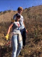 Penn Serves LA families volunteer with TreePeople Los Angeles Penn Alumni