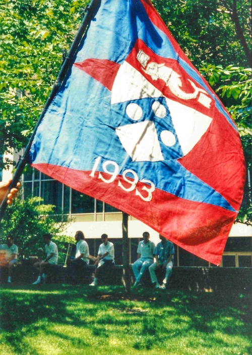 Penn Class of 1993 flag #93tothe25th