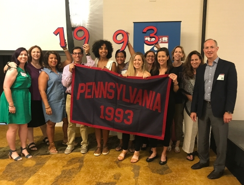#93tothe25th Penn Class of 1993 25th Reunion Committee #PRLC2017