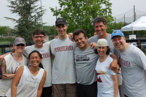 Penn Ultimate Frisbee alumni #93tothe25th