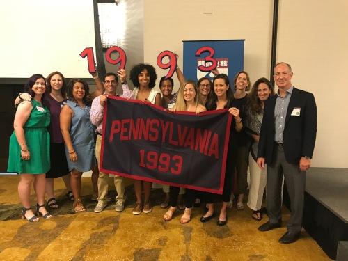 #93tothe25th #PRLC18 Penn Alumni