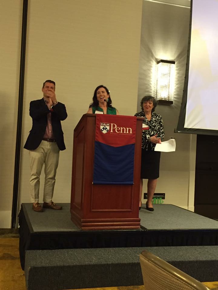 Penn Alumni for Chrissy Hofbeck on #SurvivorHHH #93tothe25th
