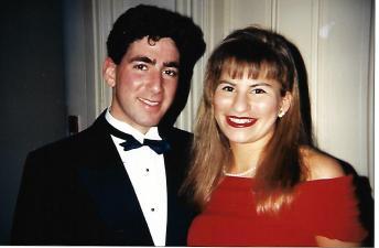 Jen Jarett and Eric Palace at SDT formal