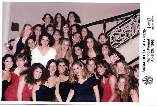 Sigma Delta Tau Spring Formal 1993 at Penn