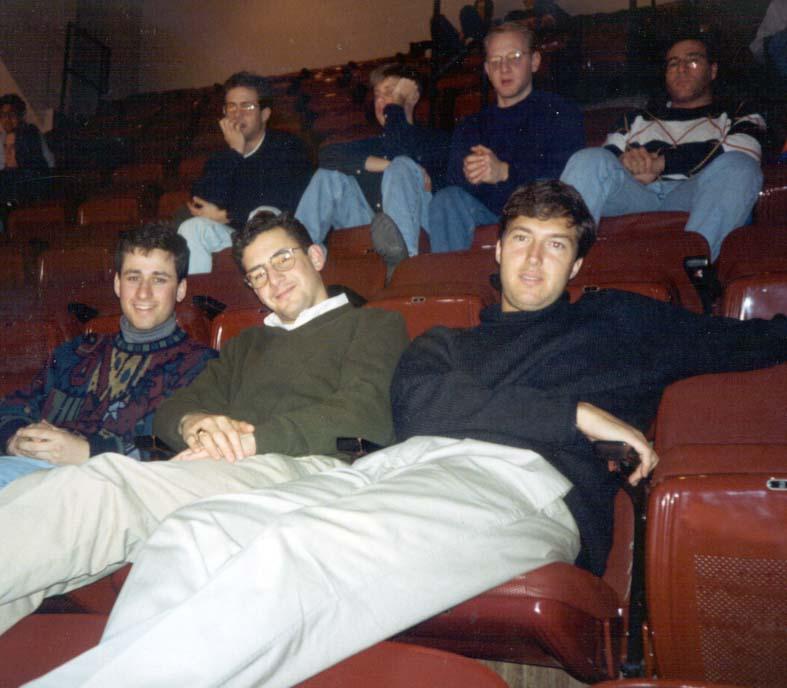 1993 Penn Senior Class Board Feb Club movie screening